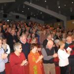 Fullt hus och stående ovationer från publiken